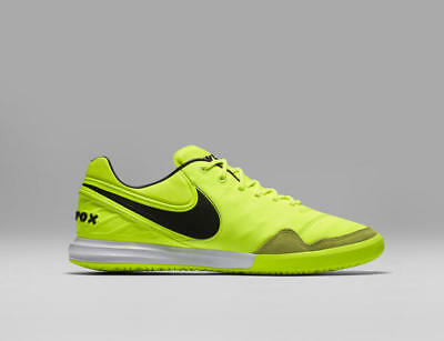 3ac85c72ede Nike Tiempo X Proximo IC 11.5 Indoor Soccer Shoes Cleats Volt Black 843961 -707