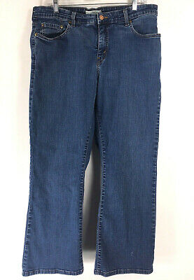 a7d08b79804b8 Levis Bootcut 512 Jeans Perfectly Shaping Womens size 20 S Medium Stone Wash