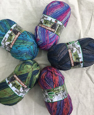 Opal Sock Wool Schafpate 9 (brand new colours) free pattern included