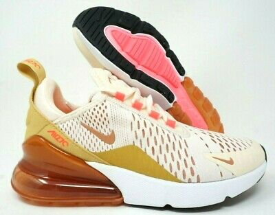 best service a878f 4869a NIKE AIR MAX 270 Womens Running Shoes Guava Ice Terra Blush Multi Size
