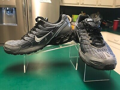 a3424818af Nike Air Max Torch 4 Men's Size 11 Grey/Black/White Running Shoes 343846