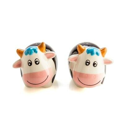 Ceramic Novelty Salt and Pepper Shakers Shaker Set Cute Cow Cows