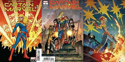 Captain Marvel 1 2 3 (Marvel 2019) Kelly Thompson series, new Movie!