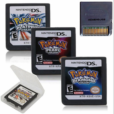 For 3DS NDS DSI Pokemon Platinum Pearl Diamond Version Game Card For Nintendo US