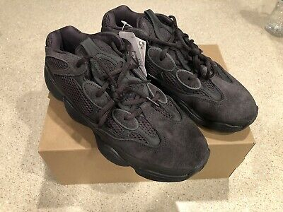 d110dd1a4 Adidas Utility Black YEEZY BOOST 500 Size 9 F36640 New 100% Authentic