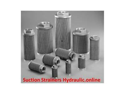 Oil Suction Strainer Threaded Relief Option, Various 8-400Lpm. Free Post Aust !