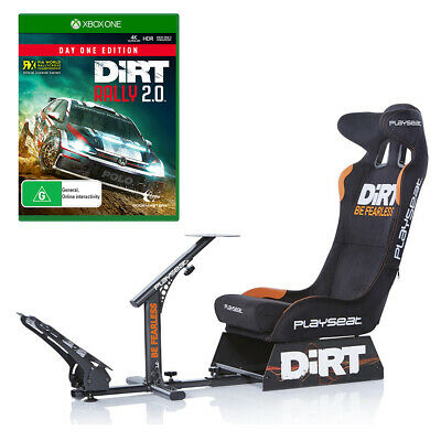 Playseat Evolution Dirt Edition with DiRT Rally 2.0 Day One Edition Bundle NEW