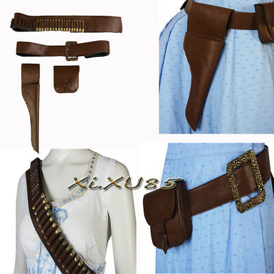 f3385699ec Hot Cakes Dolores Cosplay From Westworld Costume Belt Holster Strap XL in  Stock