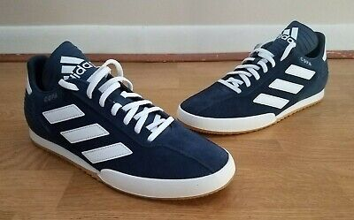 best loved ad4e6 abd43 Mens Adidas Copa Super Navy Blue Athletic Classic Soccer Sport Shoes CQ1946