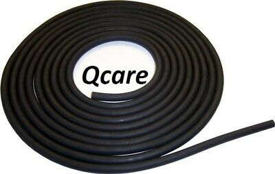 "10 FEET 1/4X1/16"" LATEX SURGICAL RUBBER TUBING 3/8 OD Black new"