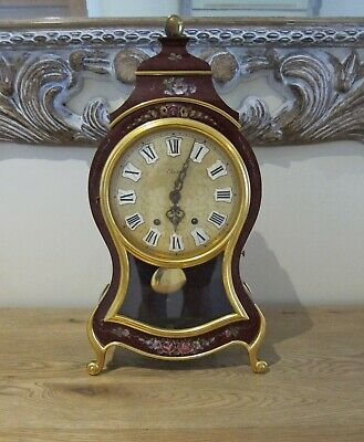 Vintage ELUXA Mantel Clock VERY RARE!! SWISS Chime
