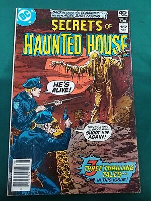Secrets of Haunted House #15 in Fine condition. DC comics [*C1]