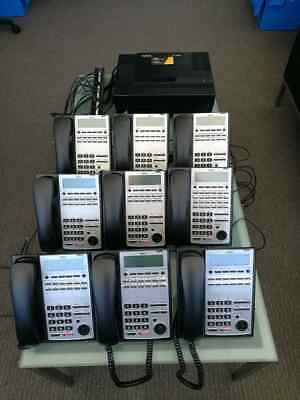 Nec Sl1100 Telephone System With 9 Handsets
