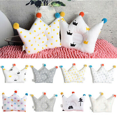 Toddler Baby Bedding Head Type Correction Newborn Infant Kids Sleeping Pillows