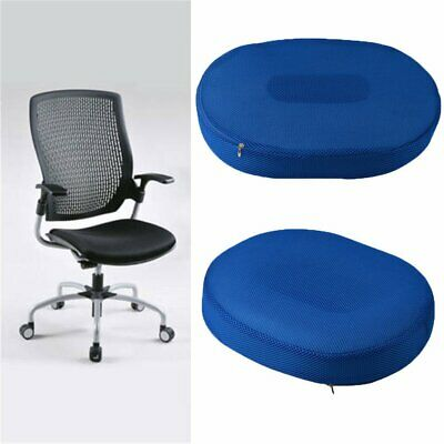Coccyx Pain Relief Memory Foam Comfort Donut Ring Chair Seat Cushion Pillow 0111