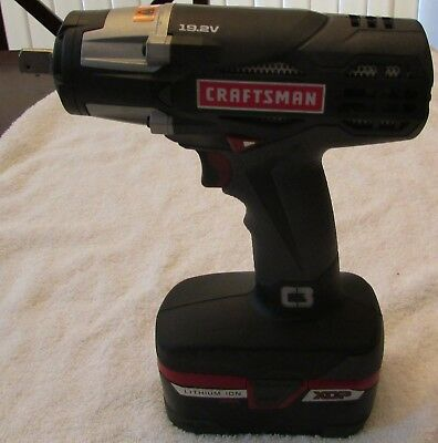 Craftsman C3 1 2 Inch Heavy Duty Impact Wrench Kit And