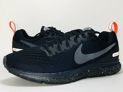 d3838e06fb5 NIKE AIR ZOOM Pegasus 34 Shield Mens Running Shoes Blue Black 907327 ...