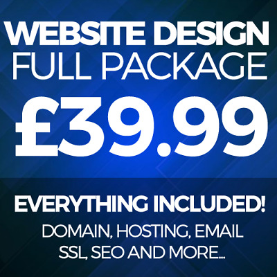 5 Page Website Web Design Service - Domain, Hosting, SSL - Business or Personal