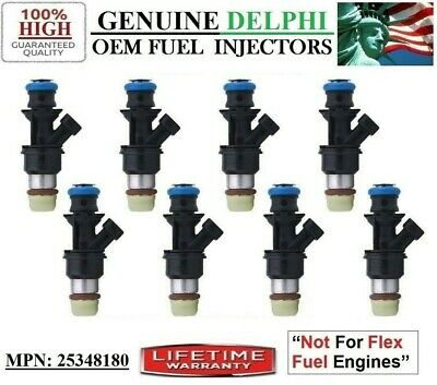 Reman 8x OEM ACDelco UPGRADE HP Fuel Injectors *Chevrolet Trailblazer Ext 5.3L6L