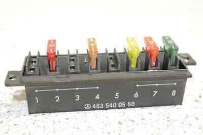 Mercedes-Benz Fuse Box 463 540 0550