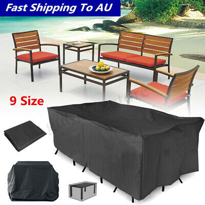 9 Size Waterproof Outdoor Patio Garden Furniture Cover Rain Snow UV
