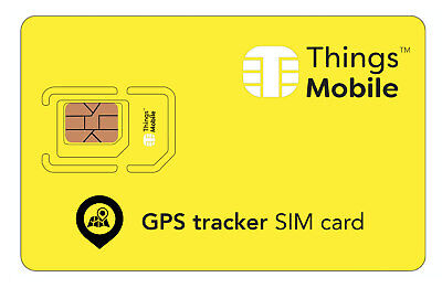 SIM Card Things Mobile per GPS TRACKER. Credito non incluso