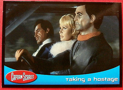 CAPTAIN SCARLET - Card #50 - Taking A Hostage - Cards Inc. 2001