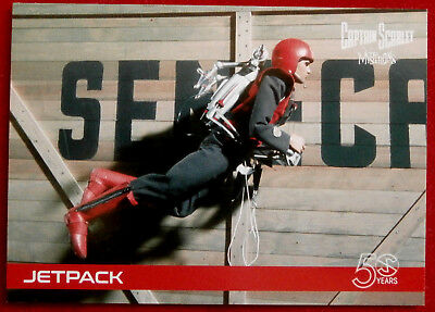 CAPTAIN SCARLET 50 YEARS - Card #26 - JETPACK - Unstoppable Cards 2017