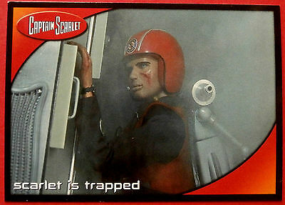 CAPTAIN SCARLET - Card #16 - Scarlet is Trapped - Cards Inc. 2001