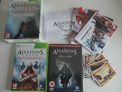 Assassin's Creed Brotherhood Auditore Edition Xbox 360 Game Complete Tested UK