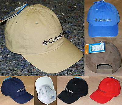 a081ae7faf9 Columbia ROC Logo UPF50 Ball Cap - Classic Cotton Baseball Hat -  22 NWT!