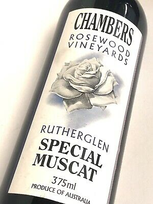 Chambers Rosewood Vineyards Special Muscat, Rutherglen 1 X 375ml