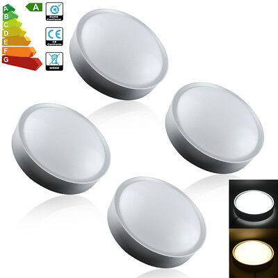 4/1x 7W LED Round Ceiling Light Warm Day White Lamp Modern For Kitchen Bedroom
