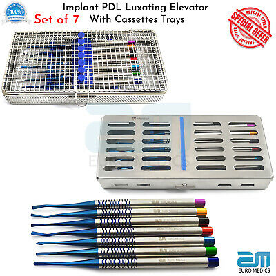 Dental PDL Proximators  Elevator Micro Serrated Root Extraction Tools Save 50£