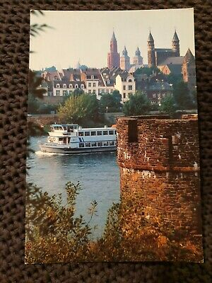 Maastricht - Panorama Riverside of the Mass- 1991 Postcard