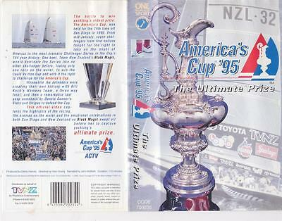 Americas Cup 95  Of Vhs Video Pal~ A Rare Find~