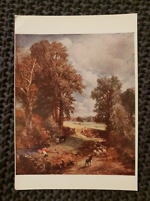 The Cornfield,  John Constable - Vintage Postcard