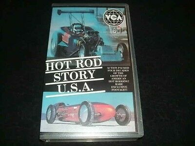 Hot Rod Story Usa  Video Vhs Pal Video A Rare Find