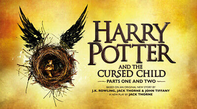 HARRY POTTER & THE CURSED CHILD PALACE THEATRE LONDON PARTS 1 & 2 - March 21-22
