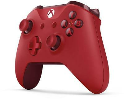 Official Microsoft Xbox One Wireless Controller Red