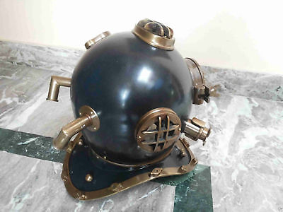 Antique Diving Helmet Brass Divers Maritime U.s Navy Mark V