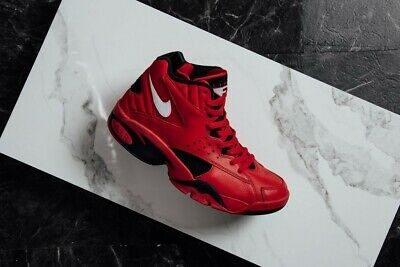 best sneakers 6a6fc 45234 Nike Air Maestro II QS AJ9281-600 University Red White Black Pippen Trifecta  DS