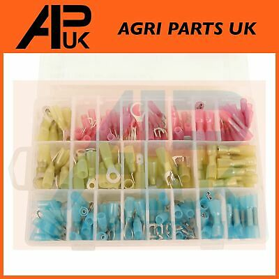 240 x Assorted Wire cable terminals Crimp connectors Heat Shrink Waterproof Seal