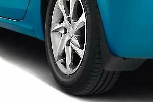 Brand new, genuine set of front mudflaps for Peugeot 208, 1606416180.