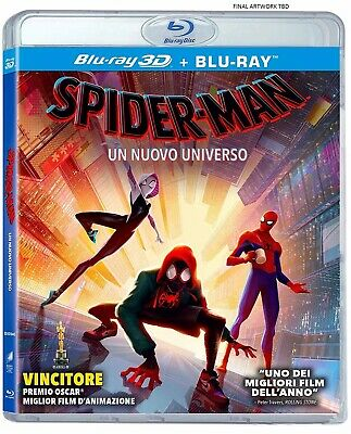 SPIDER-MAN: INTO THE SPIDER-VERSE 3D / 2D Blu-Ray PRE-ORDER Ships By 4/16