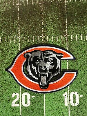 Chicago Bears Jersey Patch Big C With Silver   Black Bear Khalil Mack  Attack  1 cdd8b0cf5