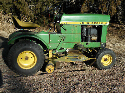 1972 John Deere 70 Lawn Tractor Riding Mower Vintage And A Classic 34 Mower 300 00 Picclick