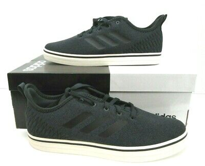 size 40 413b0 09417 Mens adidas True Chill Skateboard Sneakers Carbon  Black  White Size ...