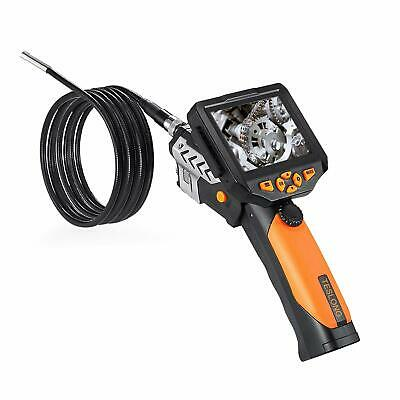 "TESLONG NTS200 3.5"" LCD Borescope USB Endoscope 8.2mm 2M Probe 0.3MP Coms Camera"