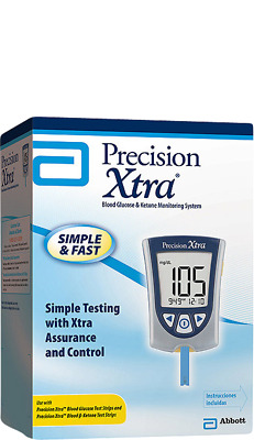 Precision Xtra  Blood Glucose and Ketone Monitoring System Meter -NEW